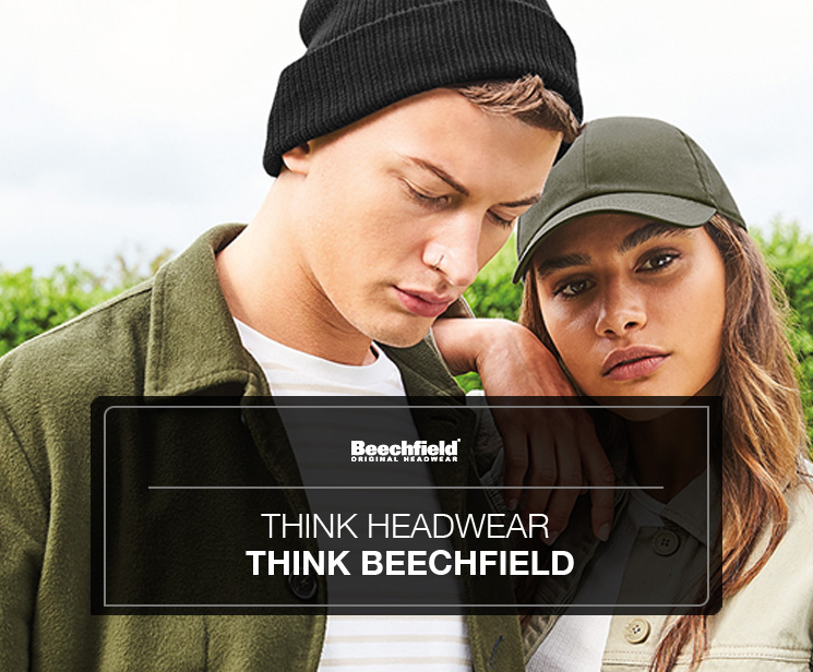 Think headwear - thing Beechfield